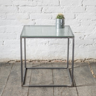 ASPER Coffee table Side table Metall Glas